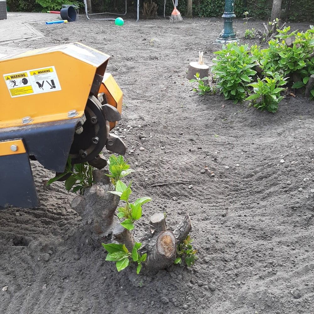 Stronken frezen in Almere